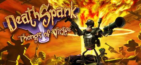 Logo for DeathSpank: Thongs of Virtue