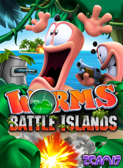 Logo for Worms: Battle Islands