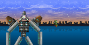 Halo: Out With a Whimper: Screenshot aus dem 2D Side-scroller Halo: Out With a Whimper