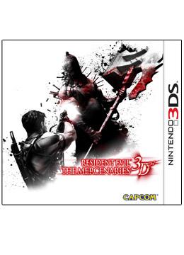 Logo for Resident Evil: The Mercenaries 3D