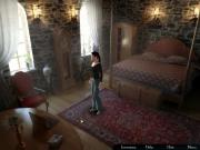 """Hotel: Rätsel um Schloss Bellevue: Screens aus dem Adventure mit Bridget """"Biggi"""" Brightstone, die zur Elite der Auszubildenden an der FBI Academy gehört."""