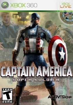 Logo for Captain America: Super Soldier