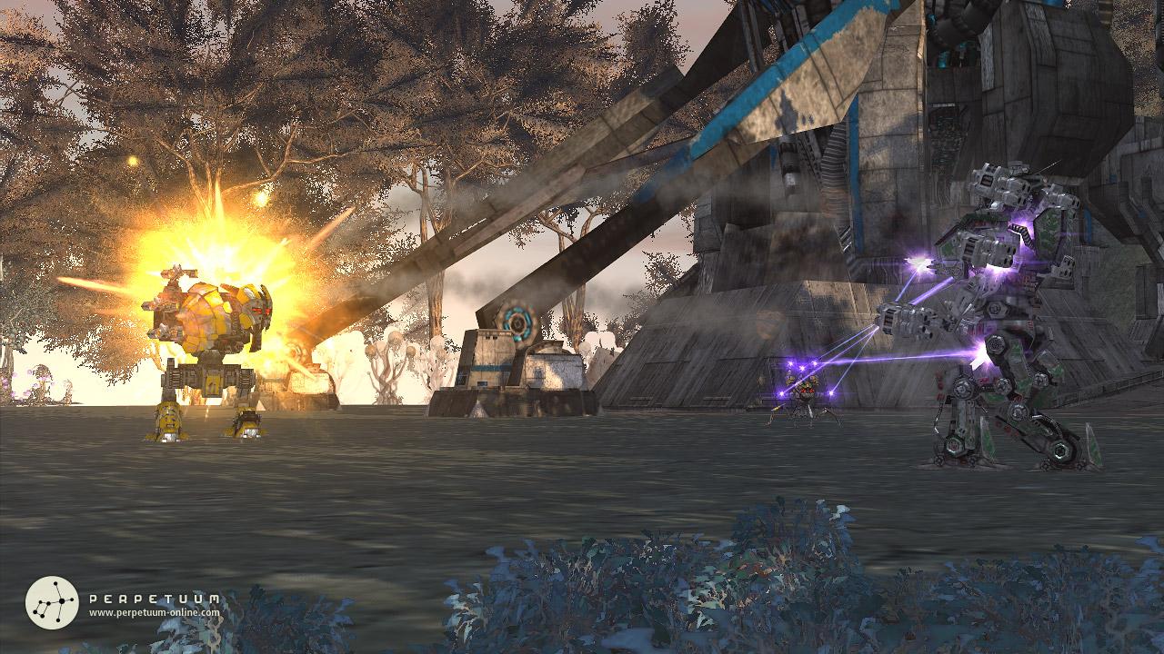 Perpetuum: Screen aus dem Sci-Fi MMORPG Perpetuum.