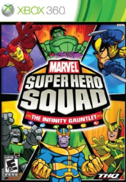 Logo for Super Hero Squad: The Infinity Gauntlet