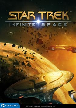 Logo for Star Trek: Infinite Space