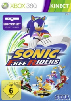 Logo for Sonic Free Riders