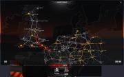 Euro Truck Simulator 2: Screenshot der World Map