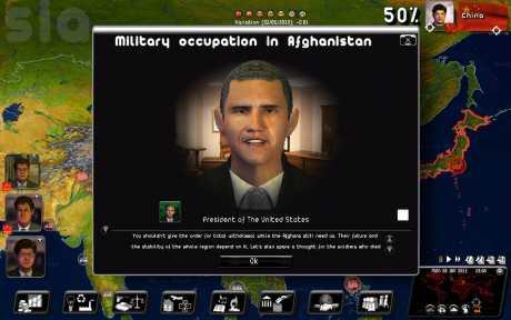 Politiksimulator 2: Rulers of Nations: Screen zum Spiel Politiksimulator 2: Rulers of Nations.