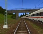 ProTrain Perfect 2: Screen aus dem Eisenbahn-Simulator.