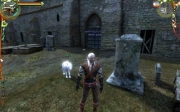 The Witcher: Bild aus der Geralt's Companion Wolf Mod