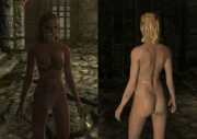 The Elder Scrolls V: Skyrim - Nude Females - Barbie Doll