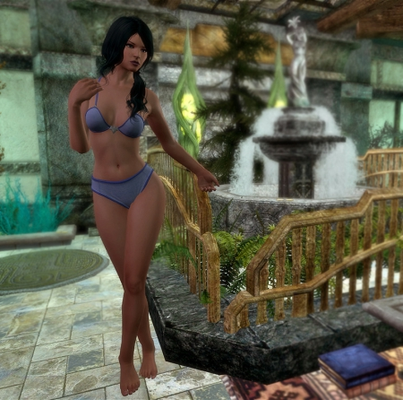 The Elder Scrolls V: Skyrim: Screen zur Mod Caliente's Beautiful Bodies Edition -CBBE