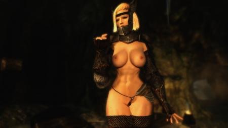 The Elder Scrolls V: Skyrim: Screen zur Mod Caliente's Beautiful Bodies Edition -CBBE