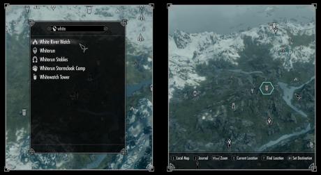 The Elder Scrolls V: Skyrim: Screen zur Skyrim Mod SkyUI.