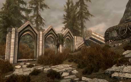 The Elder Scrolls V: Skyrim: Screen zur The Elder Scrolls V: Skyrim mod Ruined Temple of Phynaster.