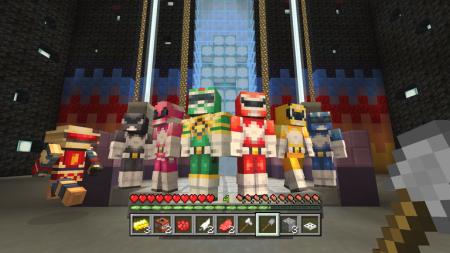 Minecraft: Power Ranger Skinpack