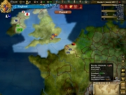Europa Universalis III: Heir to the Throne: Screen zum Rundenstrategie Titel.