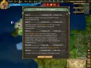 Europa Universalis III: Heir to the Throne: Screen zum Rundenstrategie Titel.