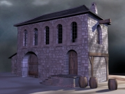 The Abbey: Screen aus dem Adventure The Abbey.