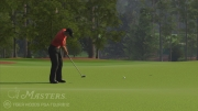 Tiger Woods PGA Tour 12: The Masters: Screenshot aus dem Grün des Augusta National Golf Clubs