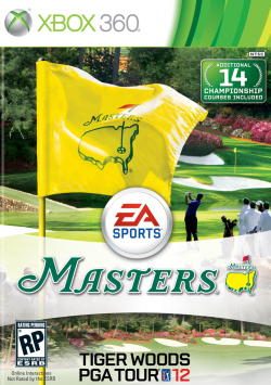 Logo for Tiger Woods PGA Tour 12: The Masters