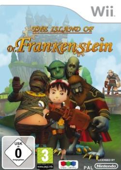 Logo for The Island of Dr. Frankenstein