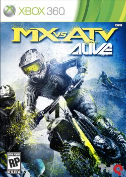 Logo for MX vs. ATV Alive
