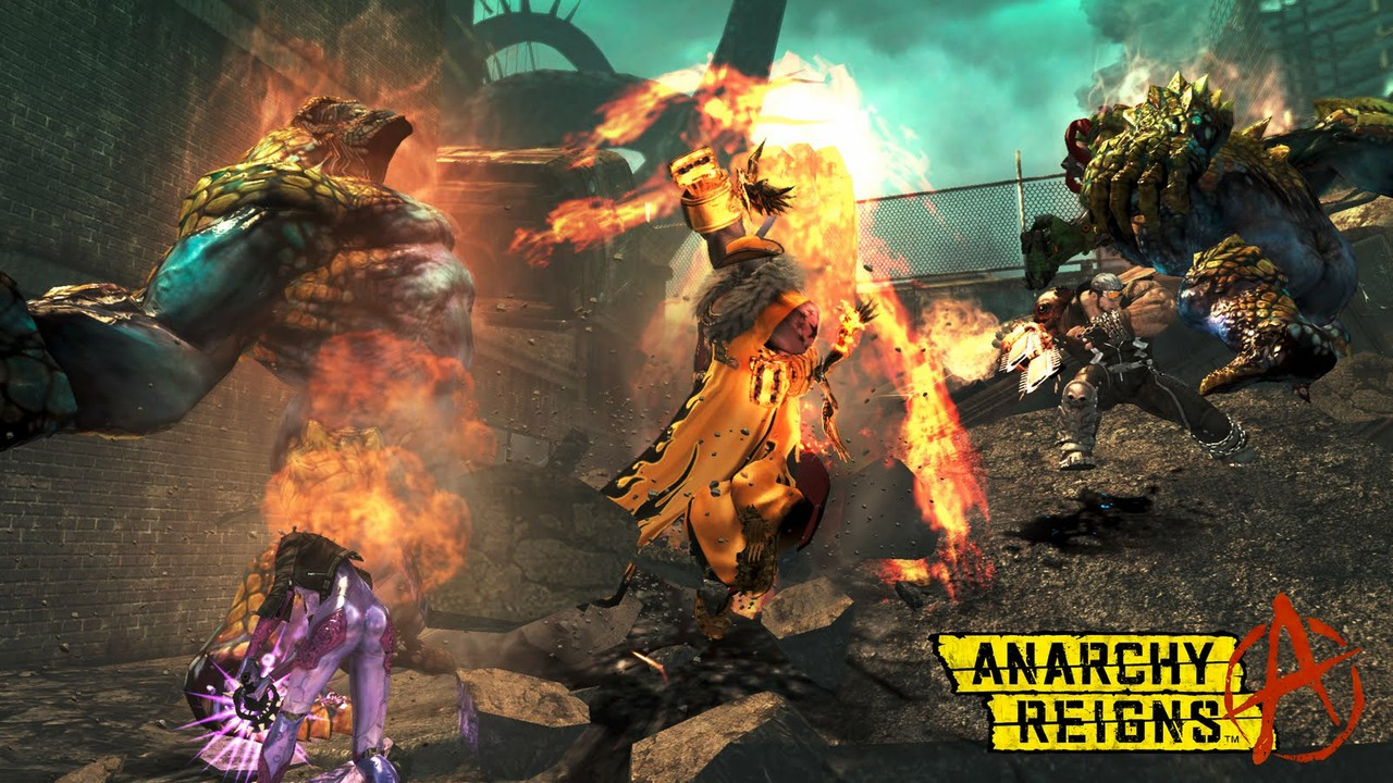 Anarchy Reigns: Screen zum kommenden Anarchy Reigns Action Titel.
