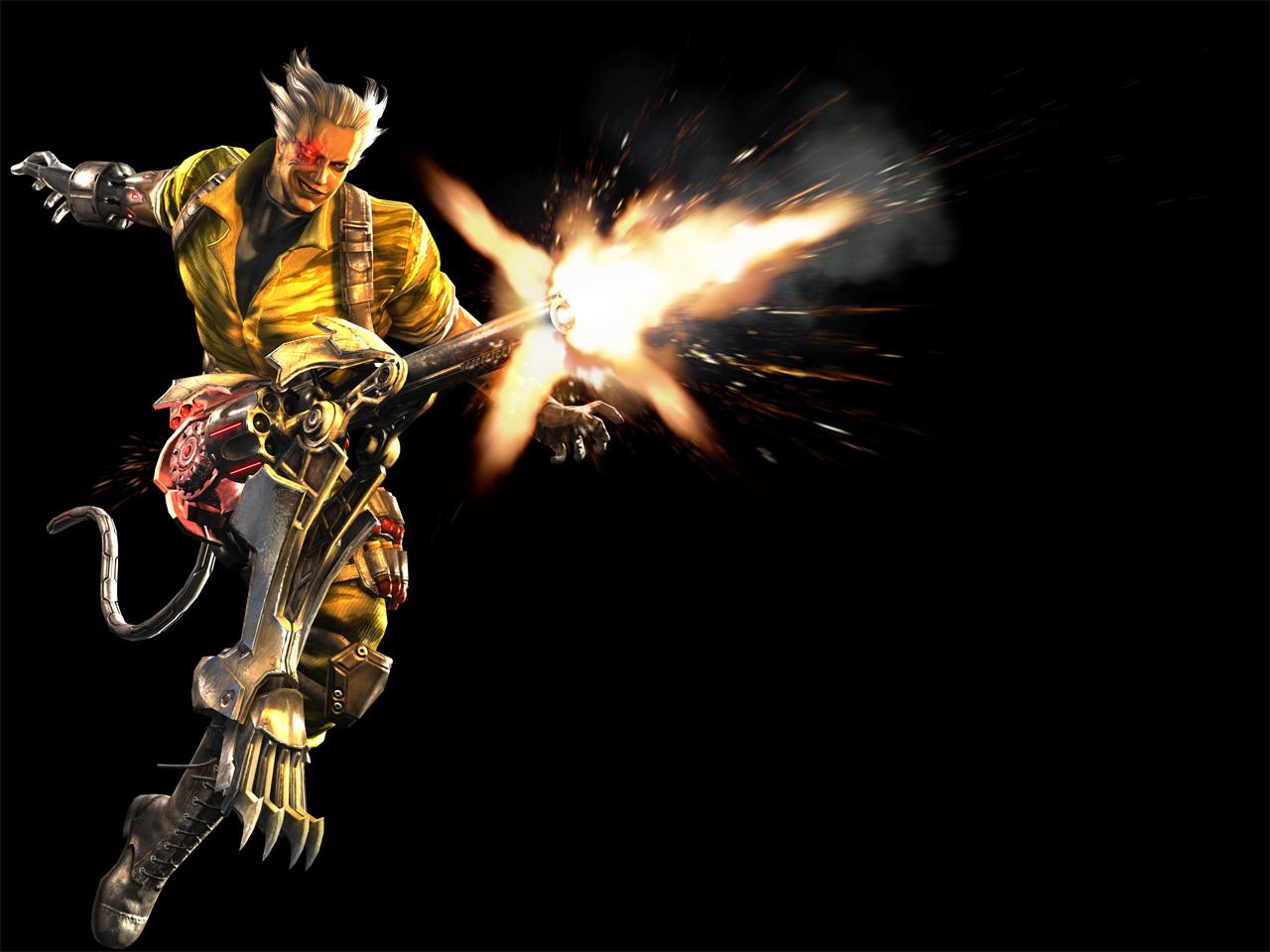 Anarchy Reigns: Zwei neue Screens und zwei Artworks zeigen den Helden Durga.