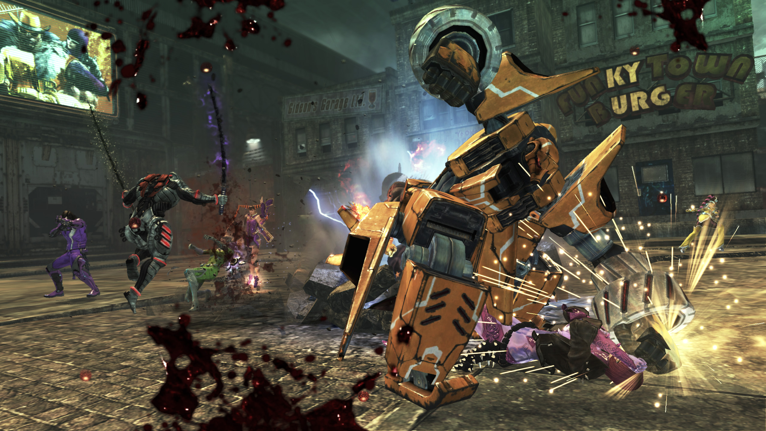 Anarchy Reigns: Screenshot aus dem Multiplayer-Prügelspiel