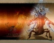 Risen: Adventskalender Art 19. Dezember - Titan Entwurf Back.
