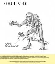 Risen: Adventskalender Art 22. Dezember - Ghul Version.