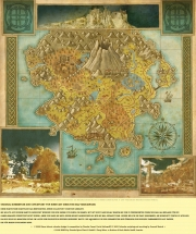 Risen: Adventskalender Art 24. Risen Weltkarte.
