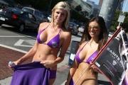 Saints Row: The Third: Saints Row Bikini Car Wash auf der E3 Spielemesse 2011