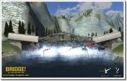 Bridge! Brückenbausimulator: Die ersten beiden Screenshots aus dem Konstruktionsspiel Bridge!.