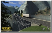 Bridge! Brückenbausimulator: Weitere Screenshots aus dem Konstruktionsspiel Bridge!.