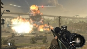 World Invasion: Battle Los Angeles: Screenshot aus dem Arcadespiel zum gleichnamigen Kinofilm