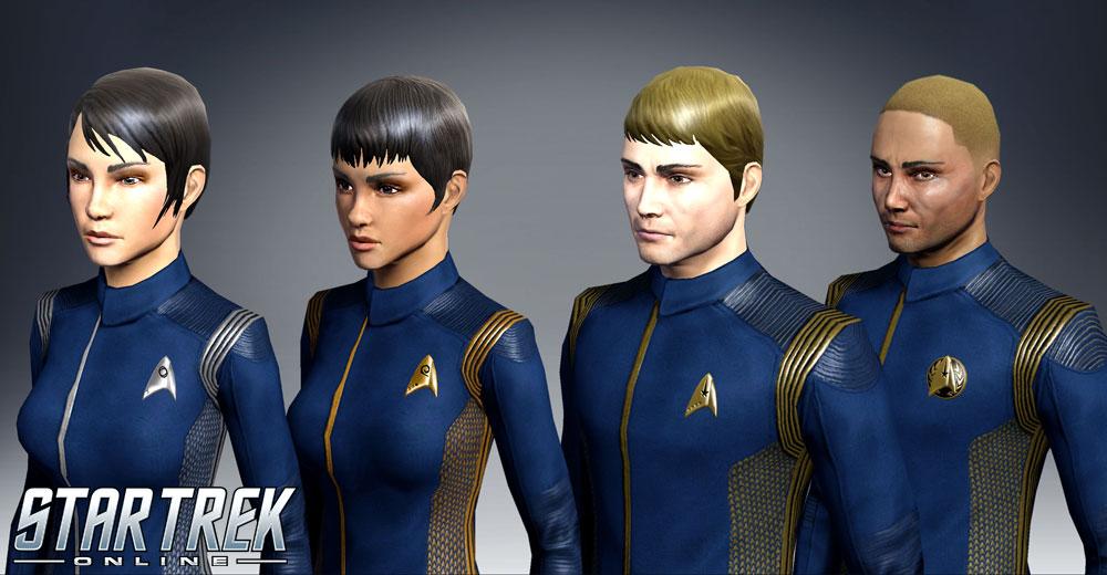 Star Trek Online: Discovery-Uniformen und Typ-7-Shuttles