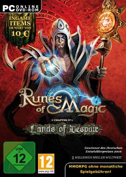 Logo for Runes of Magic: Lands of Despair