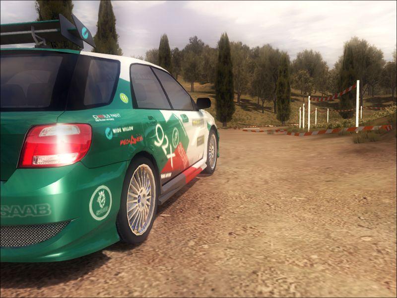 GM Rally: Screenshot aus der Rally-Simulation