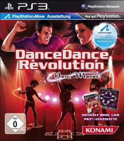 Logo for Dance Dance Revolution: New Moves