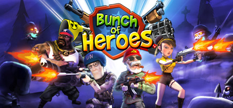 Logo for Bunch of Heroes