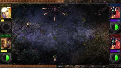 Archon: Screen zum Spiel Archon.