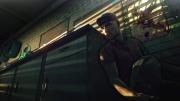 Hitman: Absolution: Screen zeigt die wahren Hintergründe zu dem bizarren Tod des bekannten Klempners Joe.