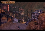 Warm Gun: Screen aus der MP Map Red River Canyon.