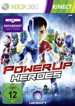 Logo for PowerUp Heroes
