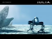 J.U.L.I.A.: Offizieller Screen aus dem Weltraum-Abenteuer.