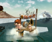 Cargo: The Quest for Gravity: Screen aus dem knuffligen Action-Adventure.