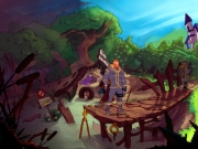 Kaptain Brawe: A Brawe New World: Screen zum Spiel.
