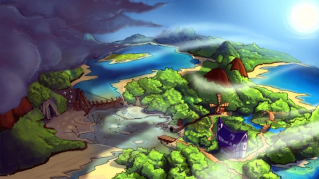 Kaptain Brawe: A Brawe New World: Screenshot zum Titel.